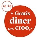 Bij Het Parool met Gratis dinerbon t.w.v. € 100,-