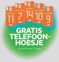 Gratis telefoonhoesje van de OranjeLeeuwinnen