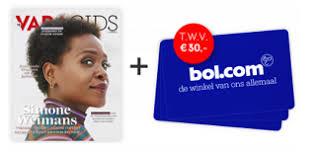 Gratis Bol.com cadeaubon t.w.v. € 30.-