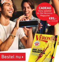 Veronica abonnement met Gratis draagbare Sony speaker