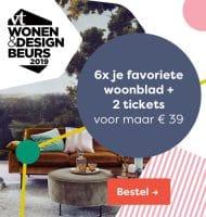 vtwonen met gratis wonen & design beurs tickets