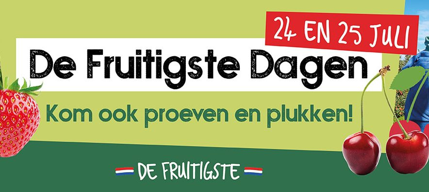 Gratis Fruitplukken op de Fruitplukdagen 2021