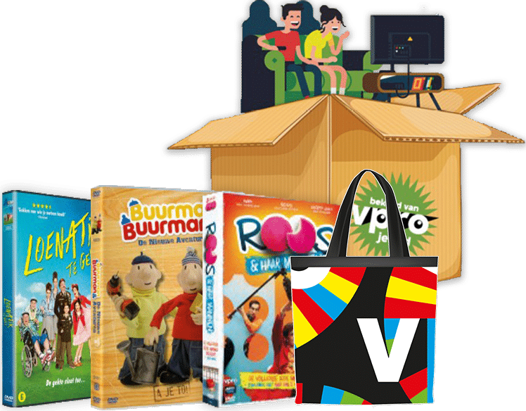 VPRO geeft 20 leuke prijzen weg! Doe gratis mee