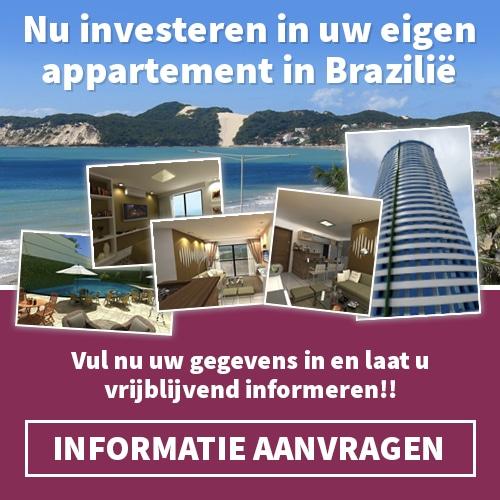 Wilt u financieel profiteren van vastgoed in Brazilië, vraag Gratis deze Braziliaans Vastgoed Brochure aan en ga voor een verwacht rendement van 8%.