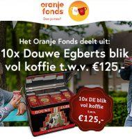 Win Douwe Egbert Burendag koffiepakket