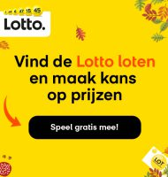Lotto trekking in het Herfstspel win 350 euro