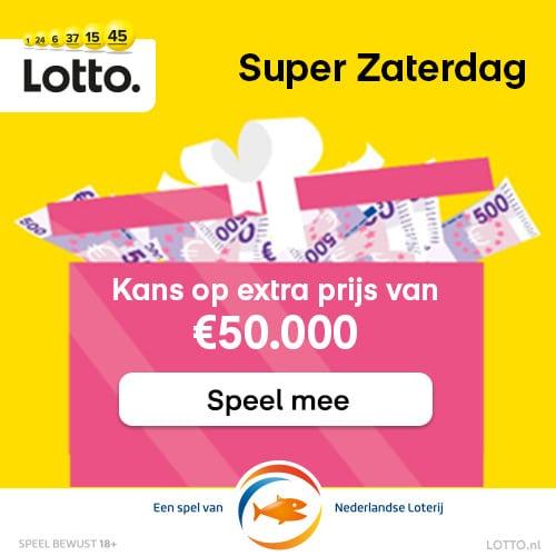 Een Lottotrekking met 10 Gratis loten