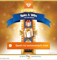Win Gratis Staatslot of € 5000.- netto | Spin & Win
