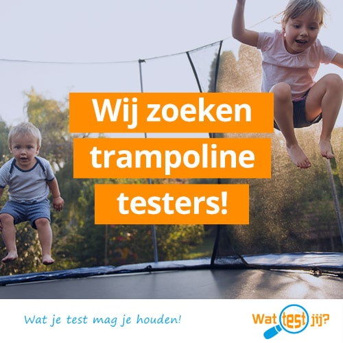 Wil je deze Trampoline testen?