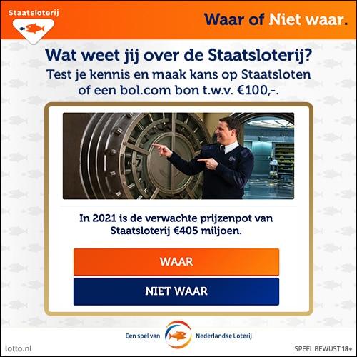 Win Gratis Staatslot of Bol.com cadeaukaart