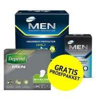 Probeer gratis TENA Men proefpakket