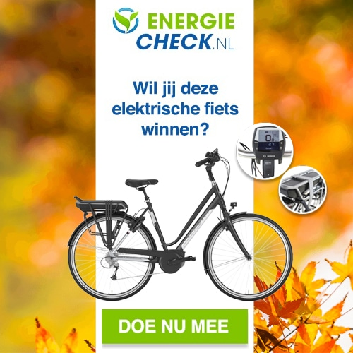 Win een luxe e-Bike t.w.v. € 1299.-