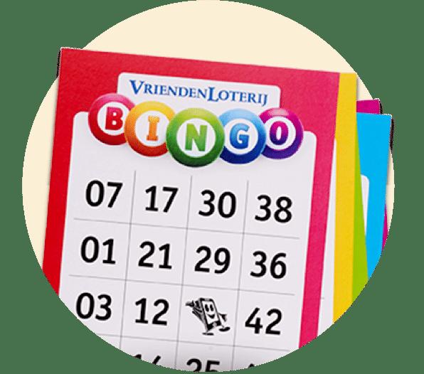Steun je club en Bingo bij de Vriendenloterij