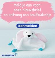 Gratis Knuffeldoekje Konijn van Nutricia