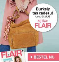 Gratis Burkely tas bij Flair abonnement