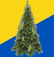 Nordmann Kerstboom voor 1 piek bij IKEA