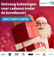 SSpaar gratis Kerstcadeaus bij Opinieland