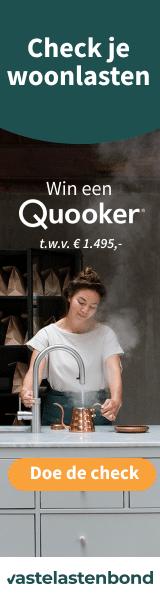 Win een Quooker t.w.v. € 1.495,-