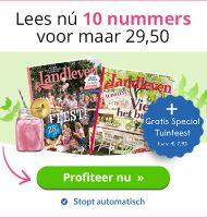 Landleven tijdschrift + Gratis special Tuinfeest cadeau!