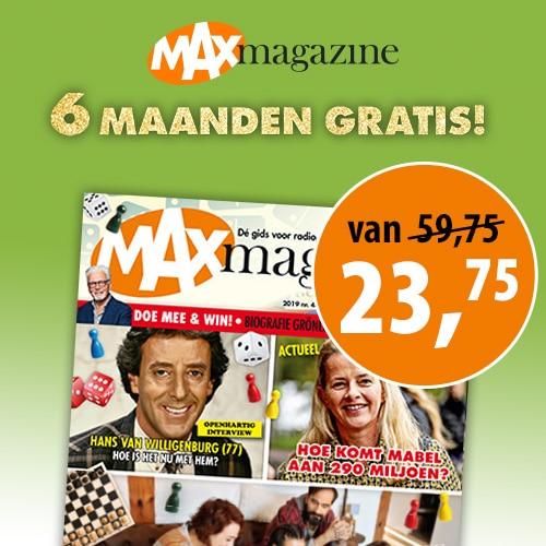 Max Tv gids nu 6 maanden Gratis