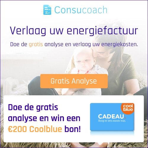 Win een Coolblue bon met deze unieke energiedeal