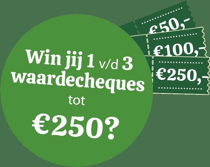 Gratis Bakker.com waardecheque winnen?