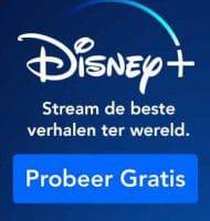 Disney+ 7 dagen lang Gratis proberen