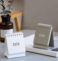 Gratis bureaukalender bestellen
