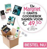 Margriet magazine met gratis Gratis Goodiebox