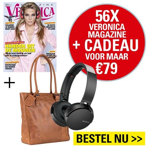 Veronica abonnement met Gratis Sony headphone