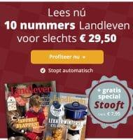 Landleven tijdschrift met gratis special Stooft t.w.v. € 7.95