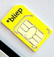 Bliep Simkaart met Gratis €10 beltegoed