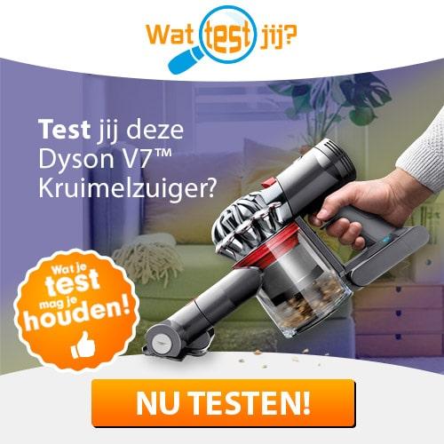 Test een Dyson stofzuiger t.w.v. € 379.-