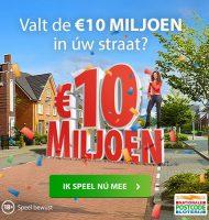Postcode loterij uitslagen voor de Kanjerprijs