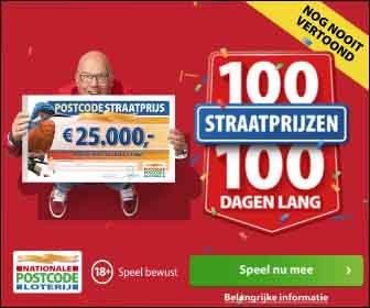 Win in de postcode loterij