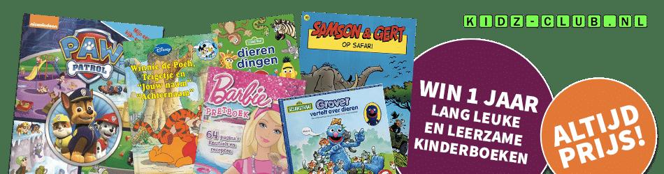Win een jaar lang Kwebbels Kinderboeken