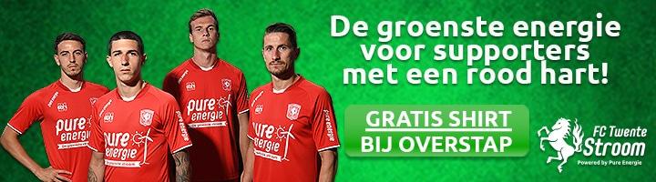 Gratis FC Twente voetbalshirt + € 200,- Shoptegoed