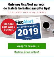 Gratis FiscAlert | Perfect voor belasting teruggave 2019