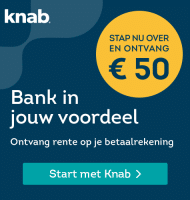 Regel je bankzaken bij Knab ontvang gratis € 50.-