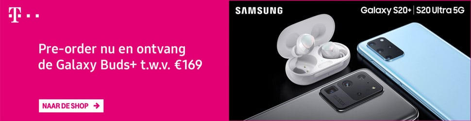 Gratis Galaxy Buds bij Samsung Galaxy S20
