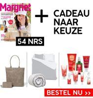 Margriet magazine met Gratis cadeau