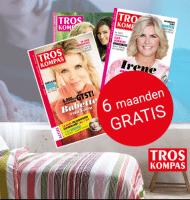 Gratis Troskompas + Dekbedovertrek t.w.v. € 59.-.