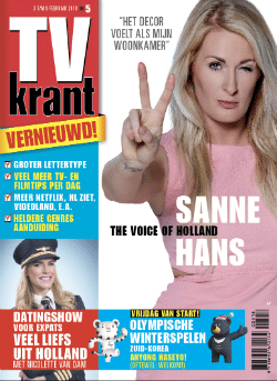 Tv Krant met 75% korting en Flashlight toolkit cadeau