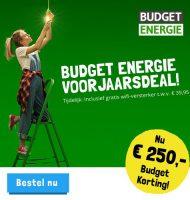 Gratis € 250.- Budget energie voordeel + WiFi-versterker