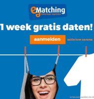 Bij e-Matching 1 week gratis Daten | Doe je mee?