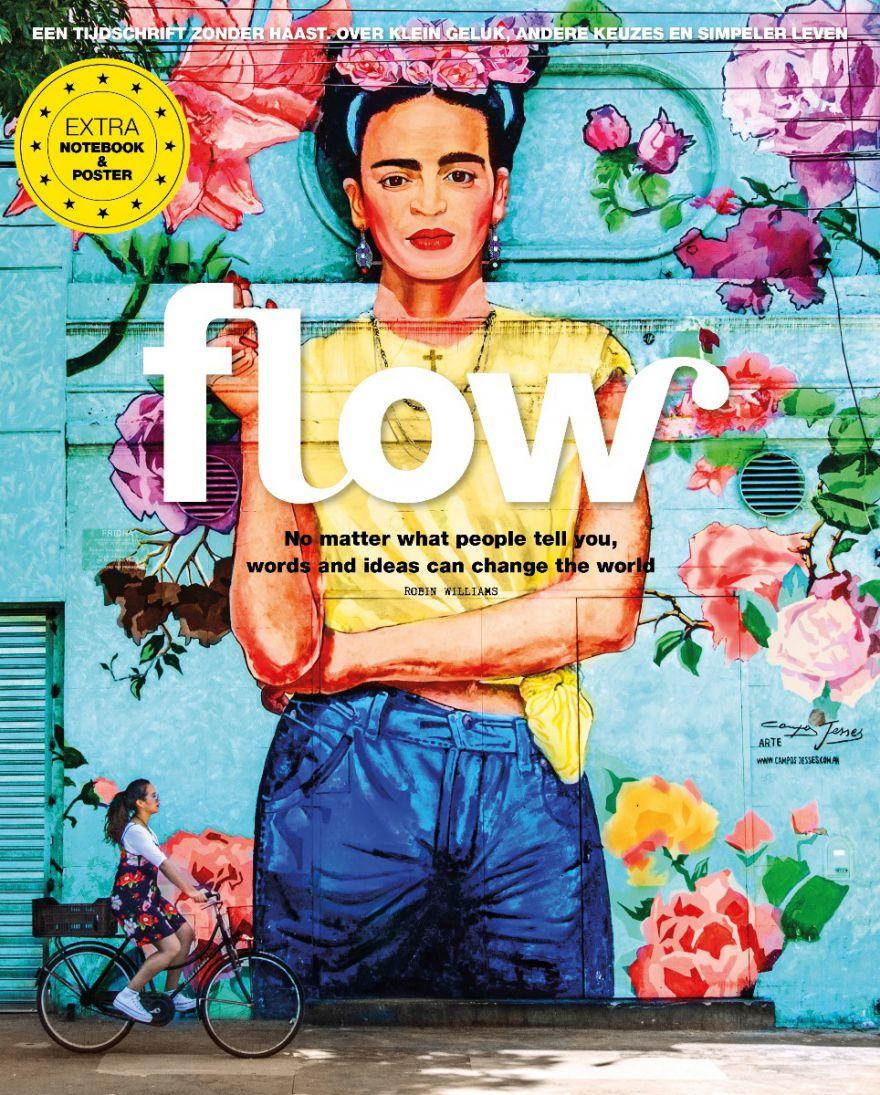 Flow magazine met gratis rugtas t.w.v. € 99,95