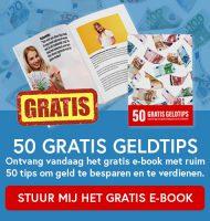 Gratis Ebook met 50 Geldtips
