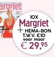 Margriet magazine met Gratis HEMA cadeaubon