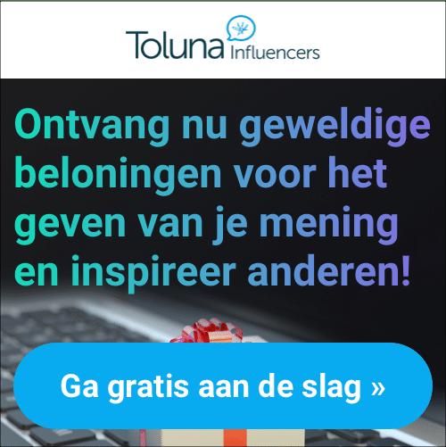 Verdien Geld en cadeaubonnen bij Toluna!