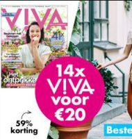 VIVA magazine nu 14 x voor slechts € 20.-